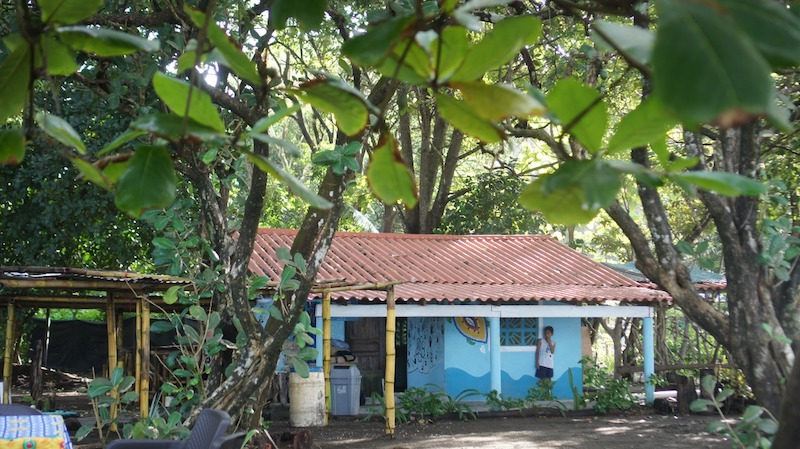 casa para voluntarios proyecto de tortugas