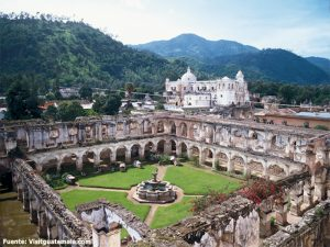 Convento de Capuchinas en Antigua Guatemala