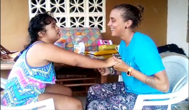 special needs kids volunteer in nicaragua