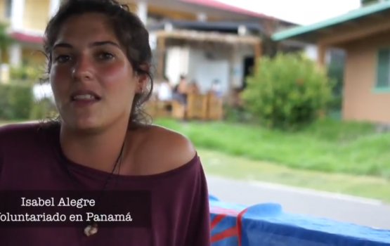 isabel volunteering in panama testimony