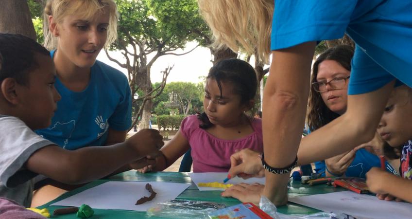 voluntaria testimonio alemania nicaragua adventure volunteer