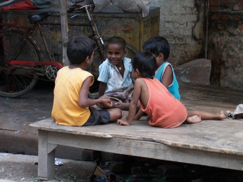 Voluntariado en centro de cuido de niños