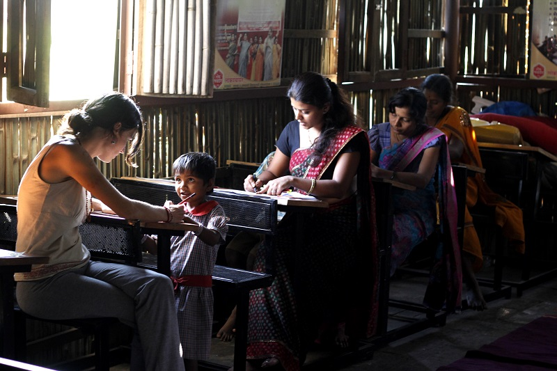 enseñanza en la india