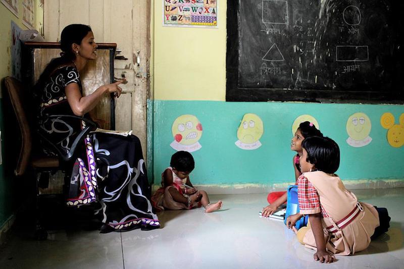 orfanato voluntariado en india