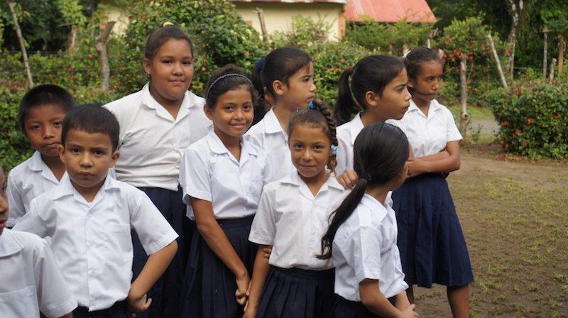 teaching volunteer in Panamá