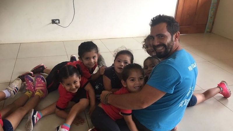 volunteering in Costa Rica with children