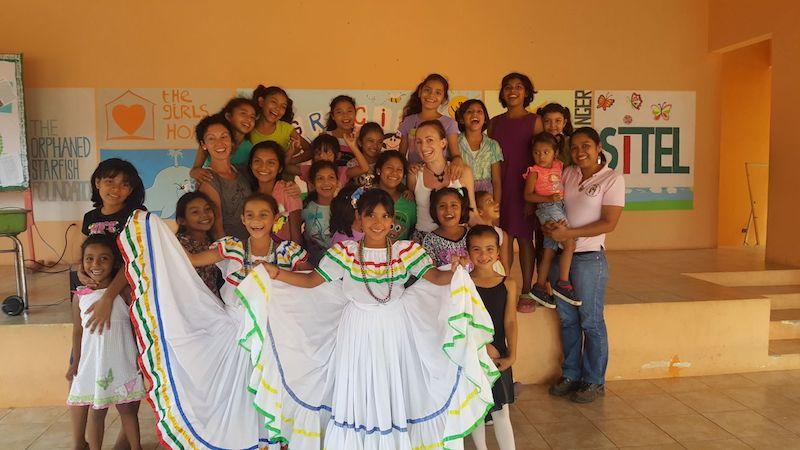 voluntariado en hogar de niñas Nicaragua