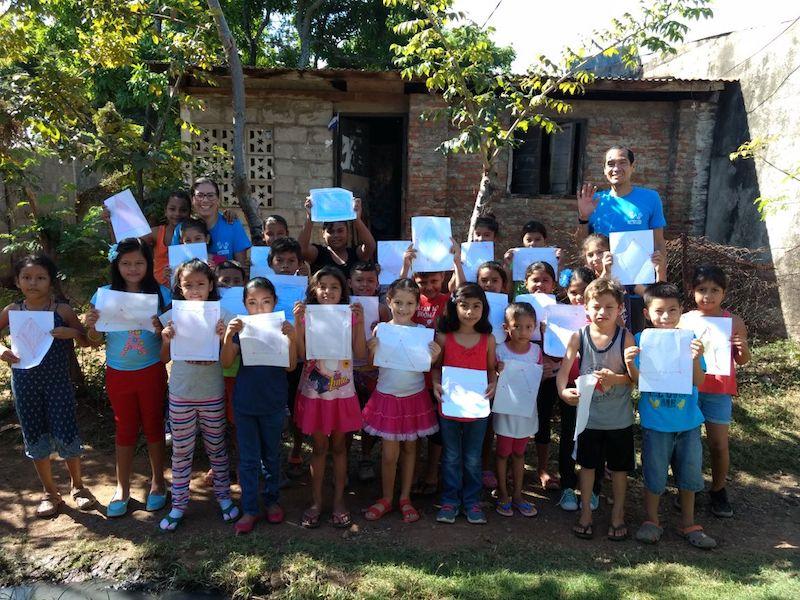 school reinforcement kids volunteer in nicaragua