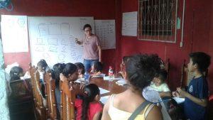 Voluntariado enseñanza en Nicaragua