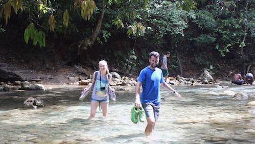 Volunteers at El Limon Dominican Republic