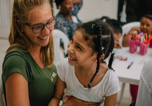 volunteer program in teaching with children of different abilities