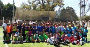 equipo deportivo voluntariado en america latina