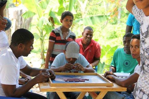 trabajo comunitario en republica dominicana