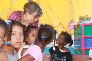 voluntariado en enseñanza con niños república dominicana