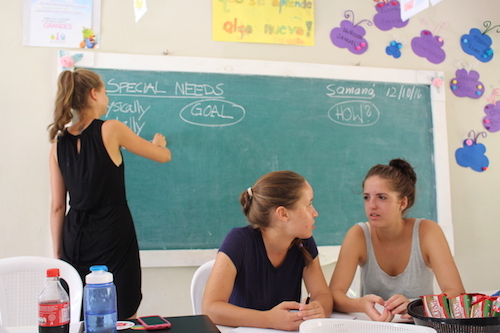 workshop for teachers en República Dominicana