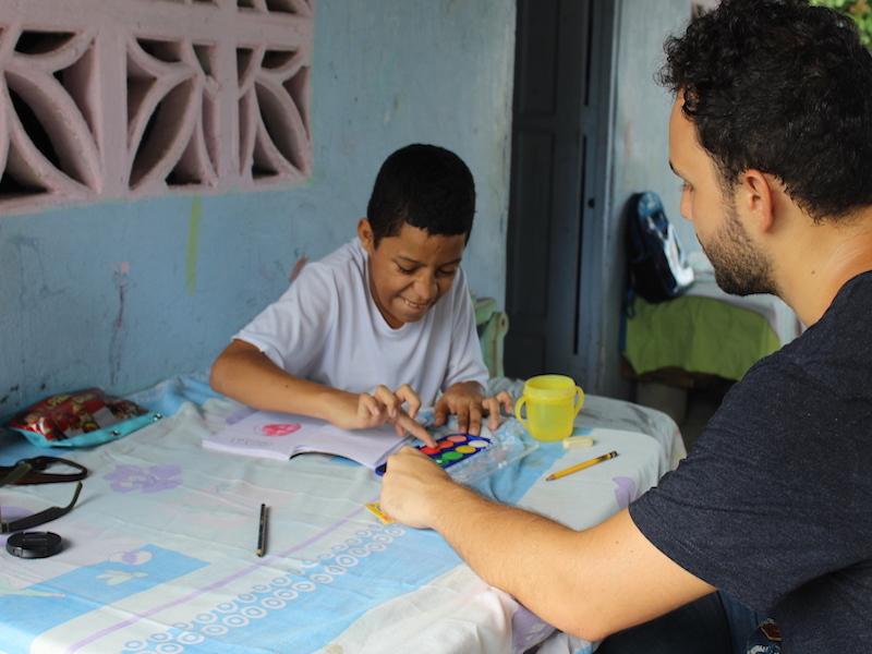 volunteer in costa rica special need kids