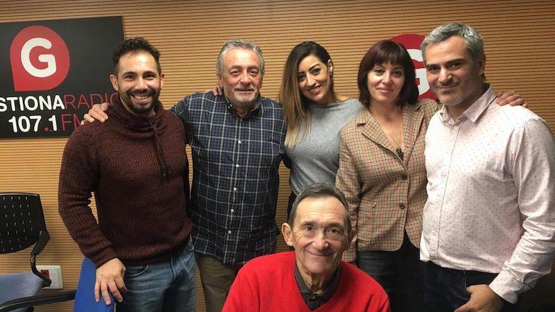 Entrevista a Sergio en Gestiona Radio 107.1