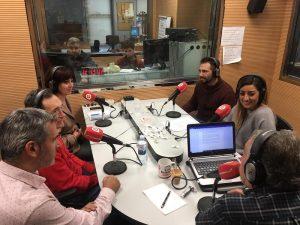 Sergio en Gestiona Radio 107.1