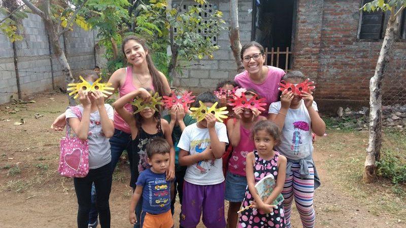 Voluntariado en Nicaragua con niños
