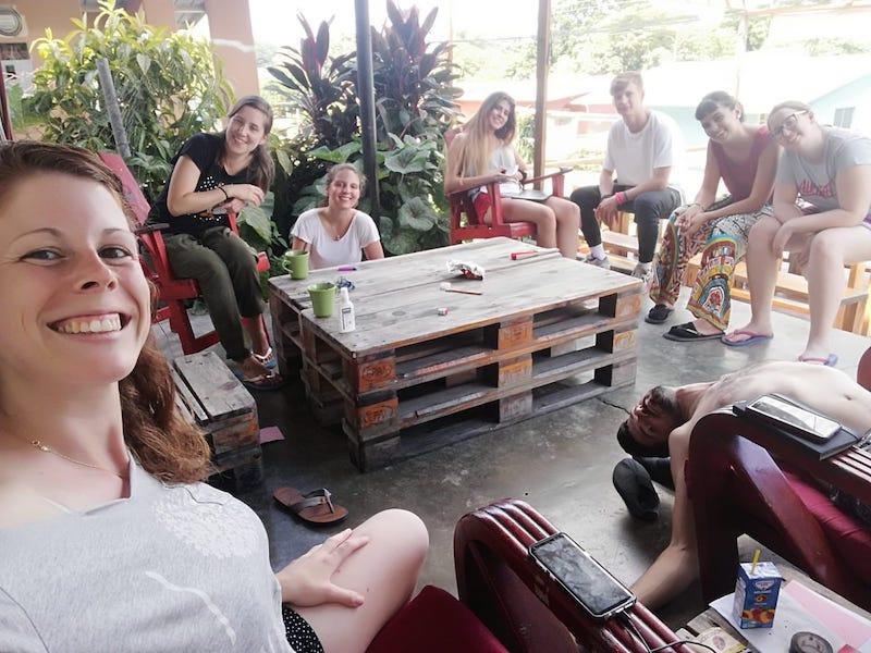 viaje internacional con amigos