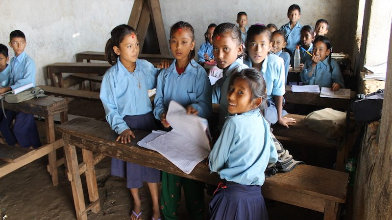 programas de voluntariado enseñanza en Nepal