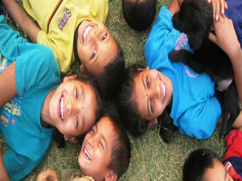 Nepal la sonrisa inocente