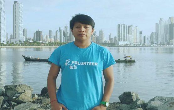 Emanuel coordinador de logística en Panamá