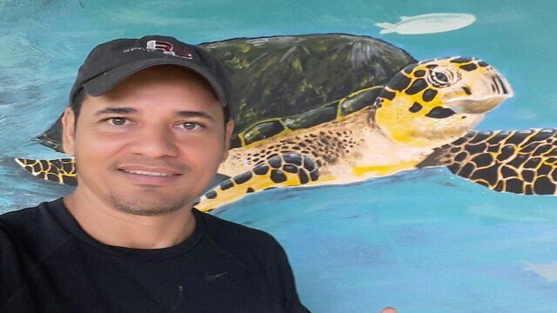 Jacinto Rodriguez coordinador programa de tortugas
