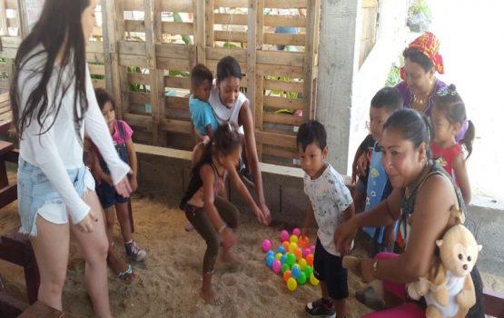 Voluntariado con madres de comunidades indígenas