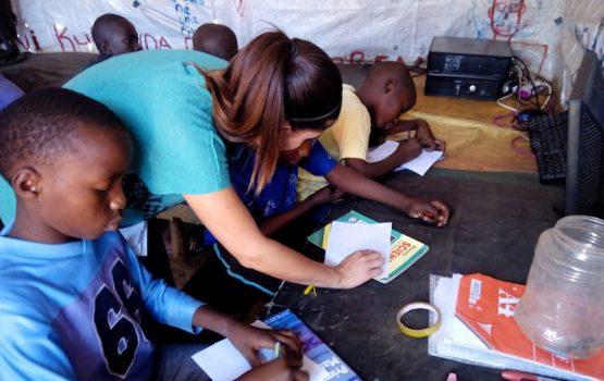 Voluntariado refuerzo y apoyo escolar en Kenia