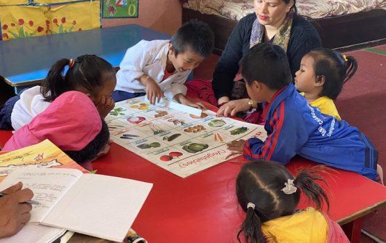 centro de cuido en Nepal