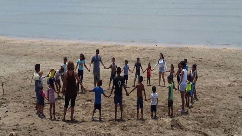 school reinforcement with indigenous communities in Panama