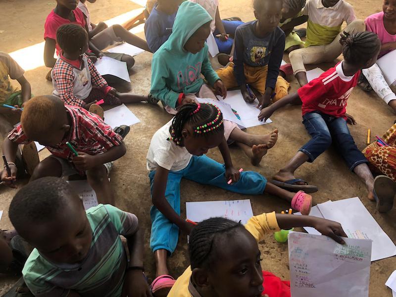 voluntariado con niños en kenia