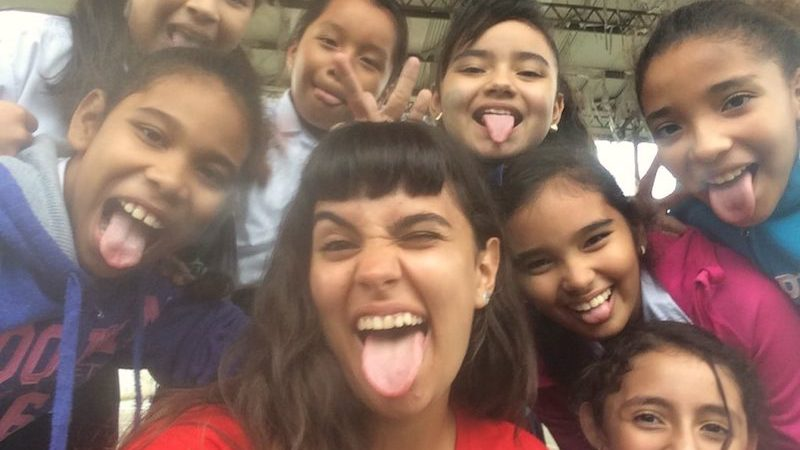 experiencia de voluntariado con niños