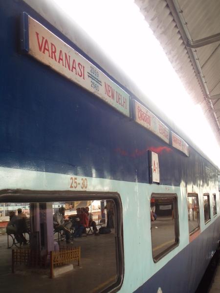 tren en india, Varanasi
