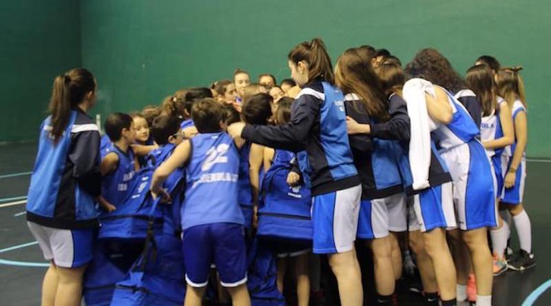Aniversario del club Gordexosa Saskibaloia Taldea iniciativas solidarias