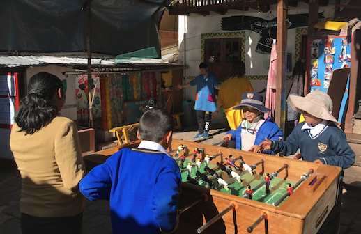 programa extra escolar Cusco
