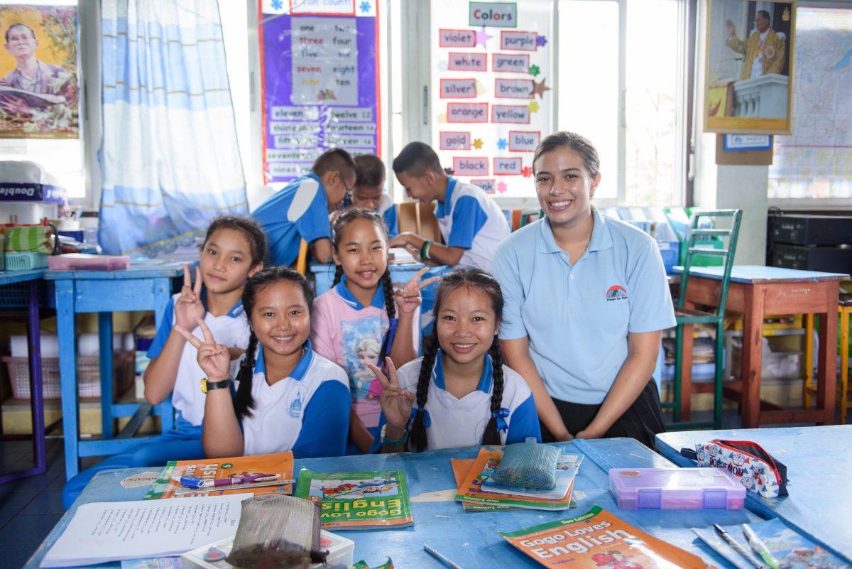 enseñanza de inglés en tailandia