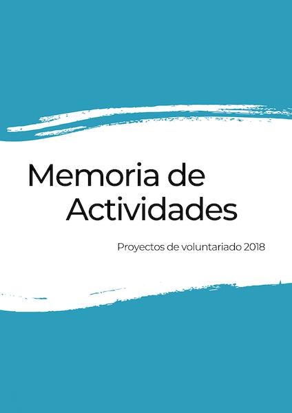 Memoria de actividades 2018 Adventure Volunteer
