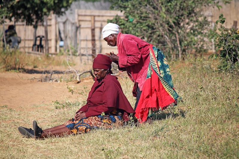 voluntaria en africa