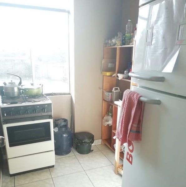 cocina del voluntario en Cusco