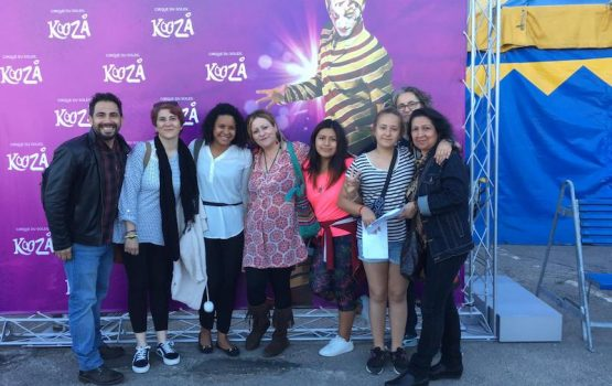 Adventure Volunteer en el Cirque du Soleil Kooza en Valencia