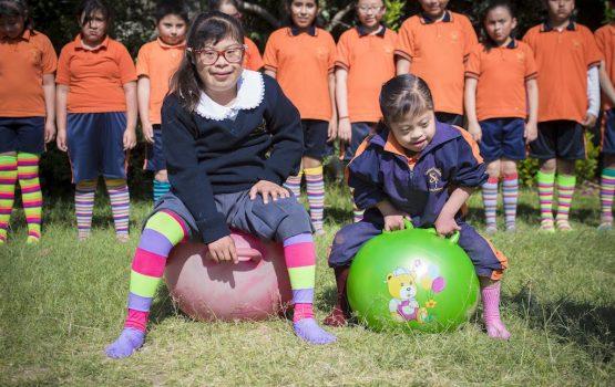 Voluntariado con niños de diversidad funcional en mexico