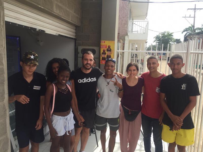 mi voluntariado en colombia