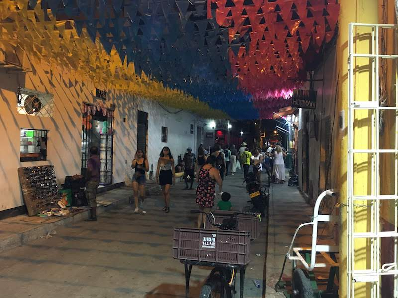 Barrio cartagena getsemaní