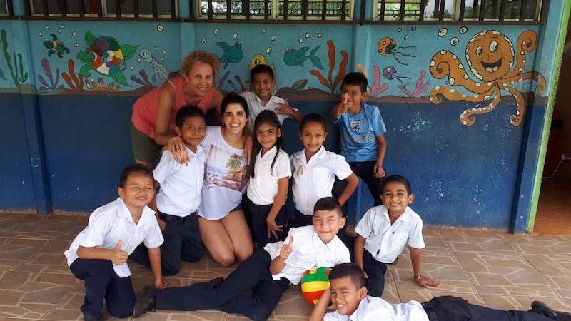 Voluntariado con amigos en Costa Rica