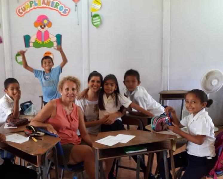 voluntariado en familia en Costa Rica