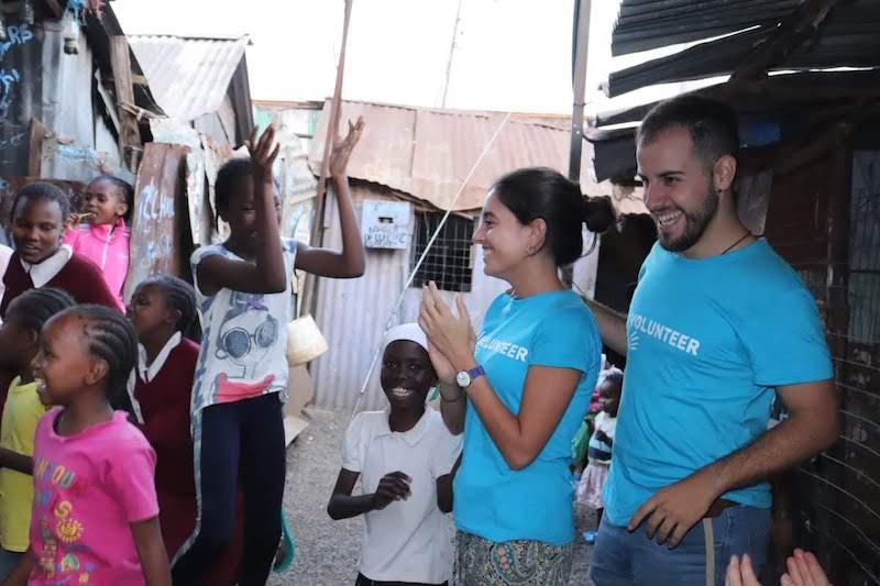 voluntariado con niños kenia 2019