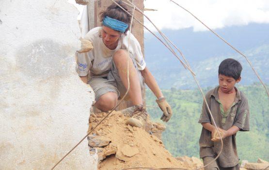 Construction Volunteer in Nepal