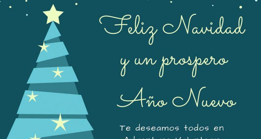 Feliz navidad y un prospero Años Nuevo